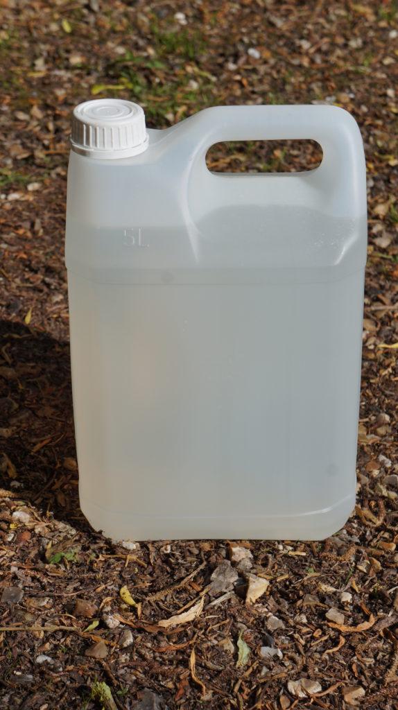 Vinaigre blanc en bidon de 5 litres